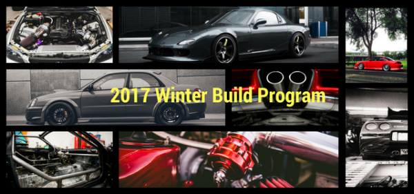 2017 Winter build program is now full